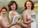 点击观看《英国熟女全裸自拍舞台剧做慈善》
